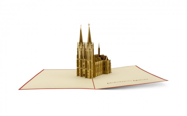 Pop-Up-Karte Elisabethkirche Marburg
